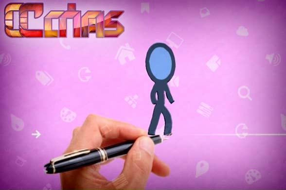 انیمیشن راه اندازی سایت